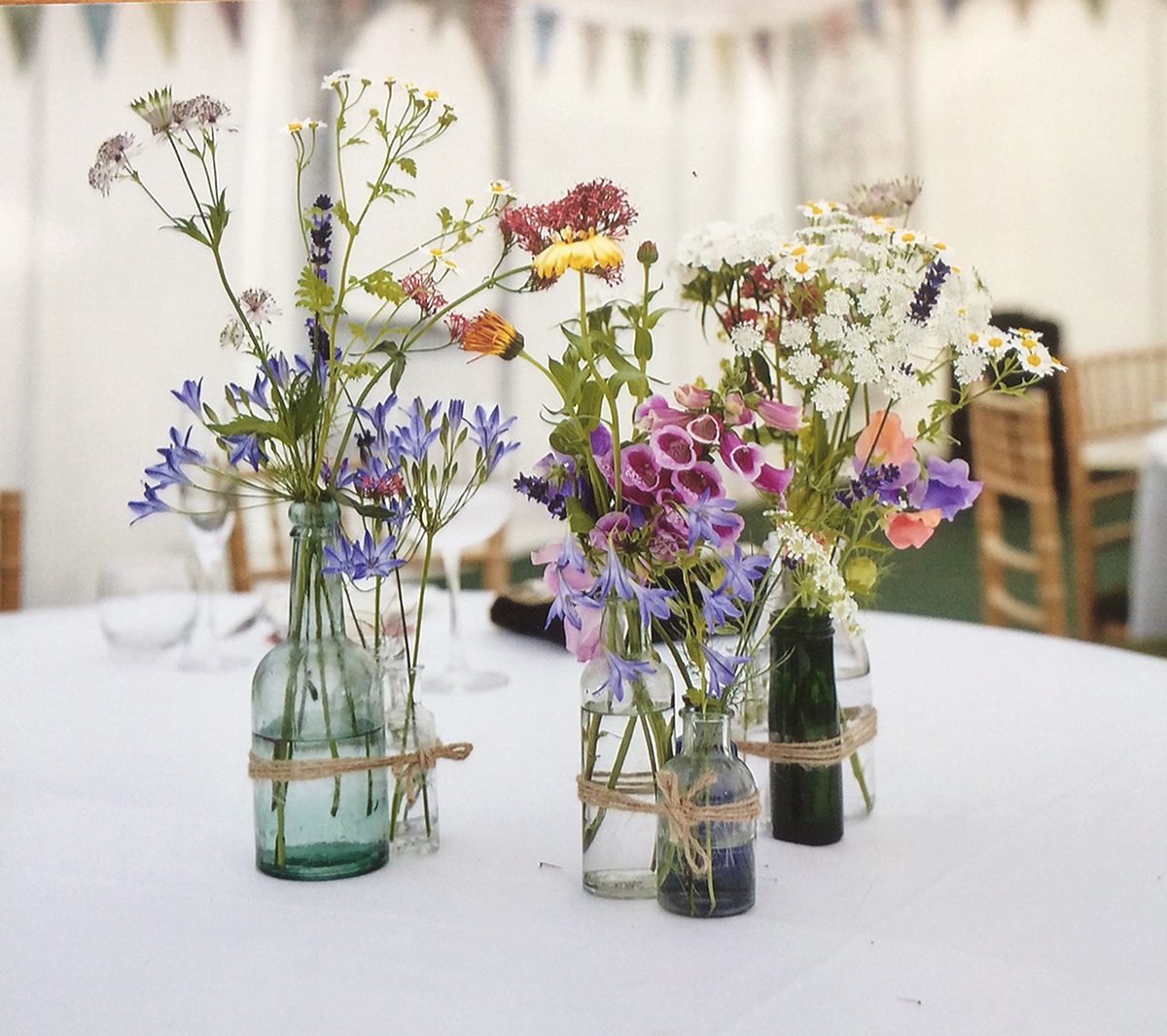 June Wedding Flowers: Natural Wild Flowers DIY Wedding Flowers Grown By Www