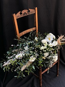 natural funeral sheaf